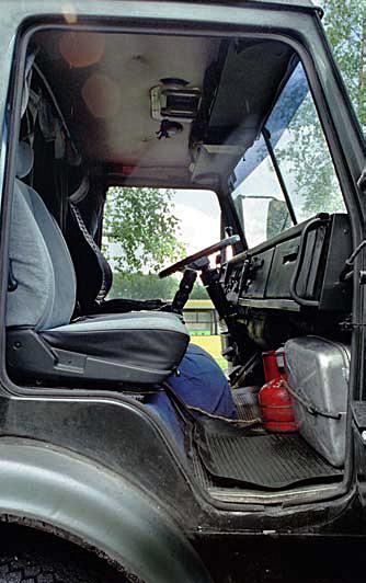 Ящик в камаз вместо среднего сидения